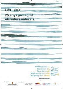 cartel 25 aniversario cabrera