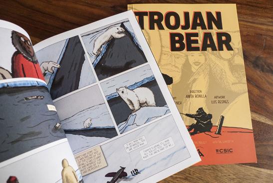 Comic Oso de Troya, Trojan Bear